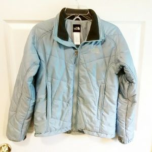 The North Face Jackets & Coats - The North Face Light Blue Puffer Jacket Size Small